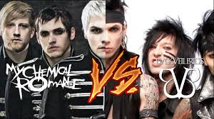 black veil my chemical vs black veil brides