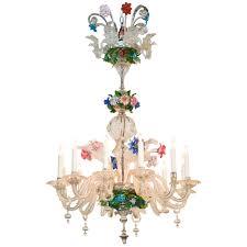 Antique Chandeliers Fabulous Antique Venetian Glass Chandelier Legacy Antiques
