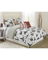 great deals on 7 piece citytime print clearance bedding comforter