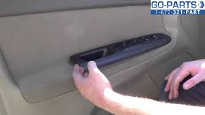 toyota camry door replacement cost replace 2002 2006 toyota camry power window lock switch how to