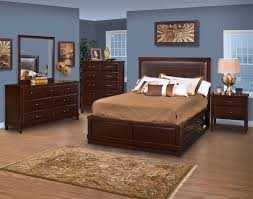 Breathtaking Costco Bedroom Set Wooden Bed With Storage Blue Wall - 7 piece bedroom furniture sets