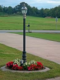 outdoor light post fixtures flower tower lamp post this would look gorgeous at the cottage on