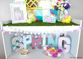 Spring Decor Springster Decor Spring Easter Decor And Tutorial Loves