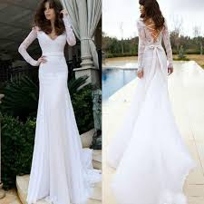 fitted wedding dresses top sedding wedding dresses fitted mermaid v neck illusion