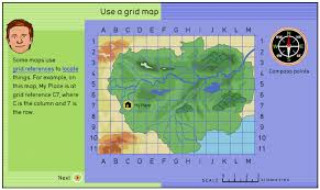 map using coordinates introducing mapping skills lesson plan year 2 3 4 australian
