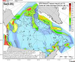 g map 2015 national building code of canada seismic hazard maps