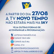 canap en sky tv novo tempo deixa a grade da sky revista adventista