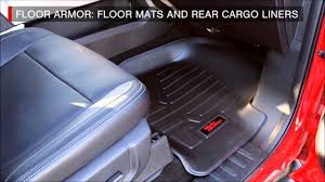Country Floor by Rough Country Floor Armor Heavy Duty Floor Mats Overview Youtube
