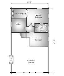 open loft floor plans kodiak katahdin cedar log homes floor plans