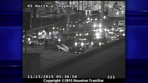 Houston Transtar Traffic Map Traffic Alert North Fwy Inbound At Shepherd Reopened After