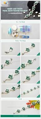pearl bracelet tutorials images How to start and finish a beaded necklace or bracelet pinterest jpg