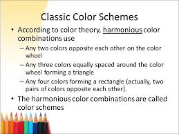 two color combinations color selection in web design ppt download