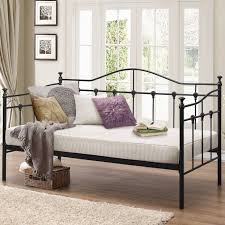 archer metal daybed frame luxury leather beds beds co uk the