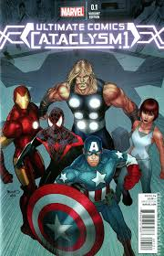 ultimate marvel comic books in ultimate marvel cataclysm