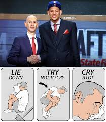 Nba Draft Memes - nba memes on twitter with the next pick in the nba draft the nba