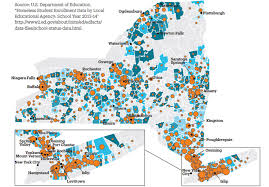 Ithaca Map Map Of Nyc Homeless Students Enrolled Statistics Empty Class