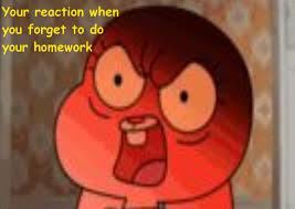 Amazing World Of Gumball Meme - the amazing world of gumball meme by ilovemycat456 on deviantart