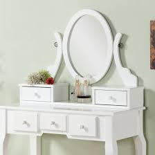 Modern White Vanity Table Table Winsome Modern White Vanity Table With Flip Up Mirror And