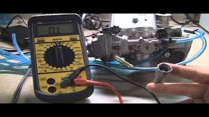 testing motorcycle throttle position sensor checking ohms with a