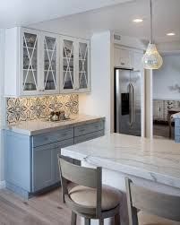 Blue And White Kitchen Cabinets Best 25 Transitional Kitchen Ideas On Pinterest Transitional