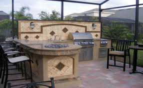 rustic outdoor kitchen ideas outdoor kitchen design ideas kitchenremodelsfav