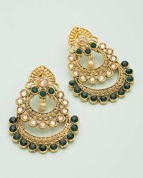 chandbali earrings online chandbali designer earrings for women buy designer