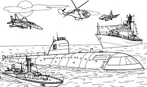 9 dessins de coloriage Militaire à imprimer