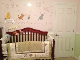 winnie the pooh bedroom classic winnie the pooh nursery set neutral made for girl with pink