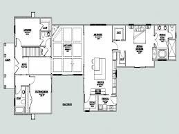 Contemporary One Story House Plans by Home Design Courtyard House Plans 61custom Contemporary Amp