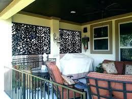 patio privacy screen porch privacy screen black ginger dove
