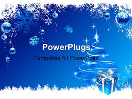 powerpoint template a celebration theme with a gift