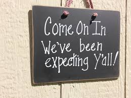southern welcome sign front door y u0027all country home humor