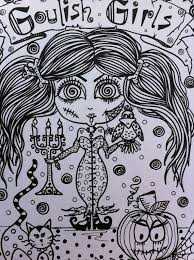 creepy coloring pages 520 best coloring pages images on pinterest drawings coloring