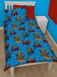 Teenage Duvet Cover Mutant Ninja Turtles Urban Single Duvet Cover Bedding Set