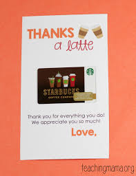 thanksgiving note thanks a latte printable