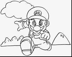 good mario coloring pages with super mario bros coloring pages