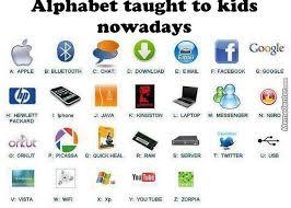 Alphabet Meme - alphabet taught to kids nowadays by nikola jovovic 399 meme center