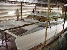 home built and fiberglass boat plans how to plywood ski kayak buid diy most used fiberglass catamaran boat building