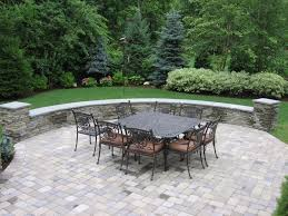 Lowes Patio Stone by Wonderful Stone Pavers Patio Ideas U2013 Retaining Walls Patio