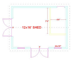 shed floor plan index of images garage plans 12x16 shed plans