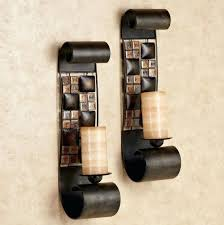 Pier One Wall Sconces Articles With Large Iron Candle Wall Sconces Tag Beautiful Large