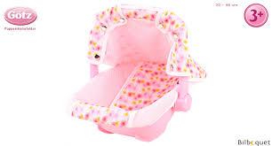 siege auto pour poupon cosy porte bébé pour poupée jusqu à 46cm götz poupées