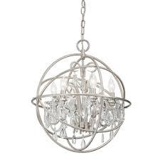 Kichler Lighting Light Brushed Nickel Chandelier  At Lowes - Kichler dining room lighting