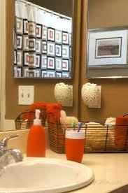 bathroom burnt orange bathroom best orange bathroom decor ideas