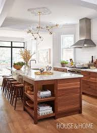 painting wood stained kitchen cabinets 15 stunning kitchens with stained cabinets sincerely
