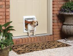 Patio Doors With Built In Pet Door Dog Doors Electronic Smartdoors For Dogs U0026 Cats Petsafe