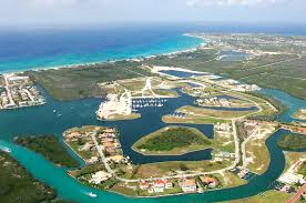 Grand Cayman Islands Map Governors Creek Harbor In Georgetown Cayman Islands Harbor