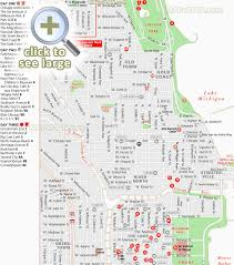 chicago map chicago maps top tourist attractions free printable city