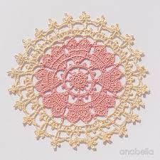heart doilies ravelry crown of hearts doily pattern by anabelia handmade
