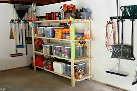 How To Make A Wood Shelving Unit by Diy 2 4 Garage Shelving